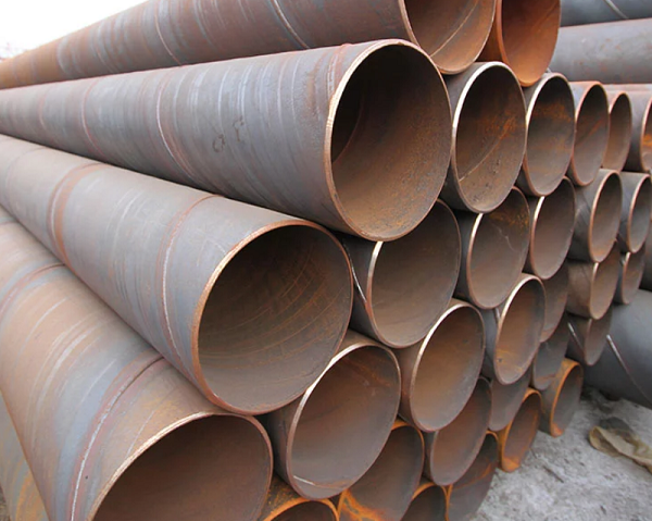 BS S235JR SSAW Spiral Steel Pipe
