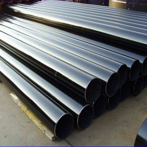 Manufacturers ERW materials construction black galvanized steel pipe