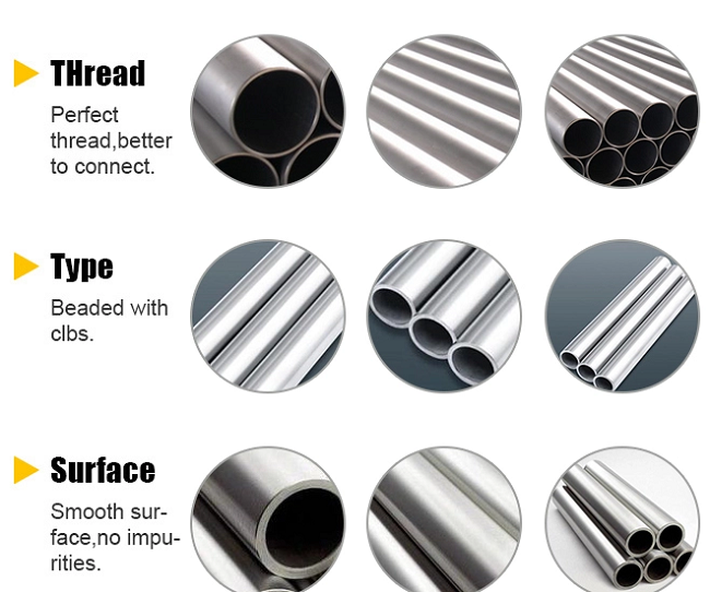 Stainless Steel Seamless Carbon Steel Pipe Details