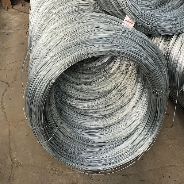High quality Electro dipped galvanized steel wire