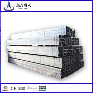 pre galvanized square tubing