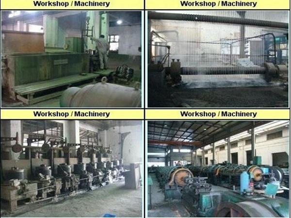galvanized steel wire workshop