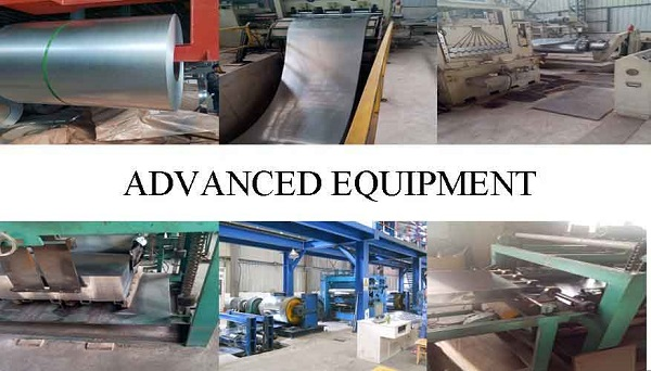 Equipment of construction material z275 Hot dip galvanized steel coil