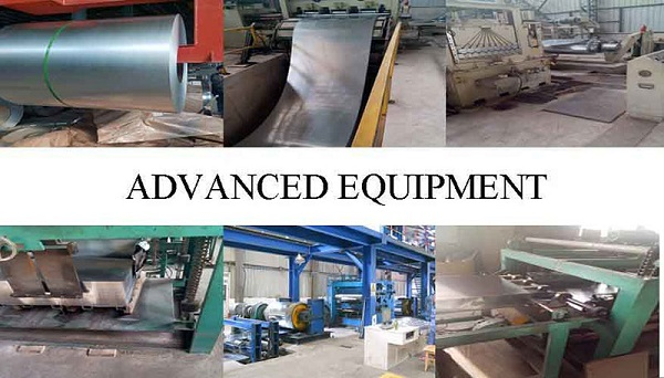 Highqualityprepainted galvanized steel coil Equipment