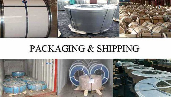 Packaging & Shipping of ppgl steel sheet
