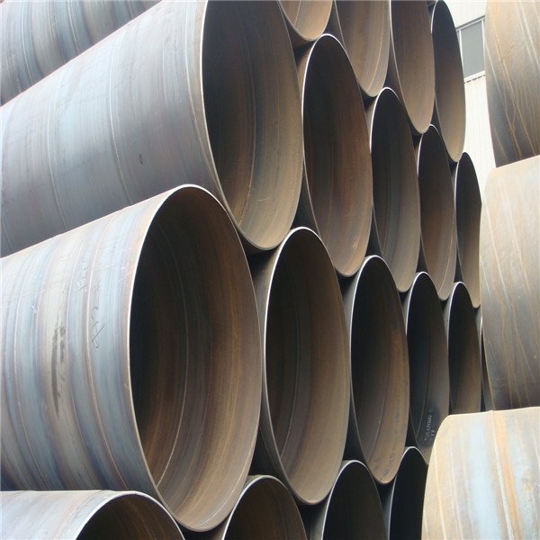 Best quality LASW/SSAW oil and gas well spiral steel pipes