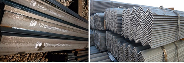 High quality steel angle bar products
