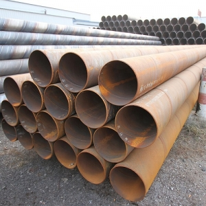 High quality mild carbon spiral welded steel pipe