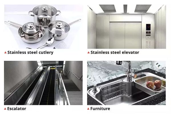 AISI 201 304 316L 317 321 Stainless Steel Sheet/Coil Application