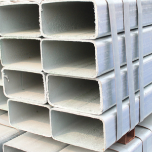 Galvanized rectangular 2x4 square steel tubing price with high quality