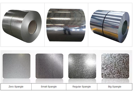 Galvanized steel sheet in coil products