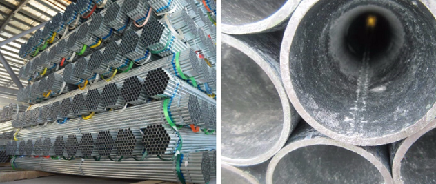 The differences between galvanized steel pipes and general steel pipes