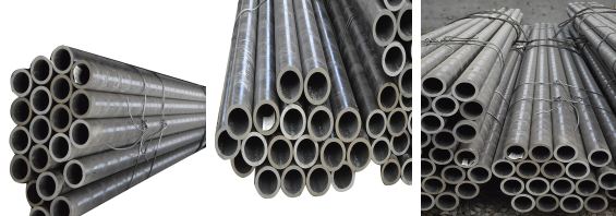 hot rolled black carbon welded steel round pipe