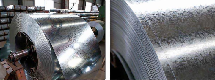 Supplier and distributor z60/z180 galvanized steel coil