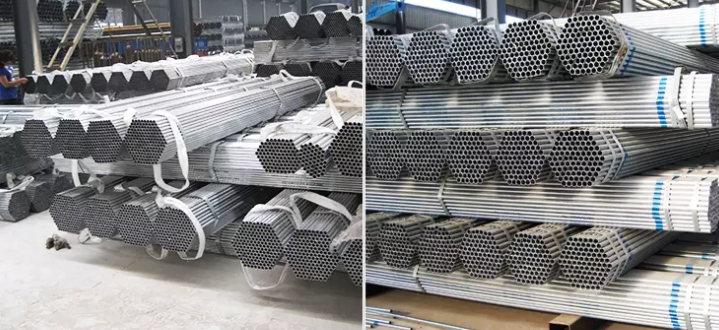 ASTM 16 gauge galvanized pipe price