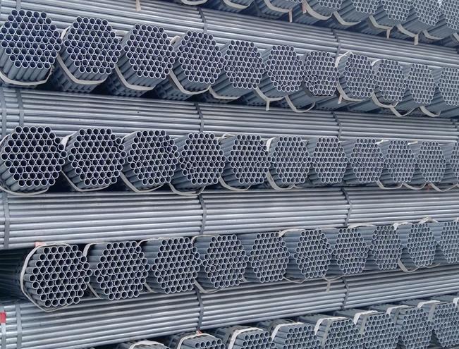 2 inch galvanized round steel pipe supply